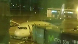 The plane that got delayed