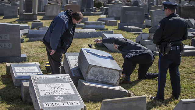 Anti-Semitic acts on the rise (Photo: AP)