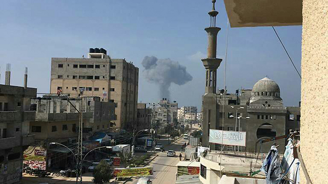 IDF attacks in Gaza
