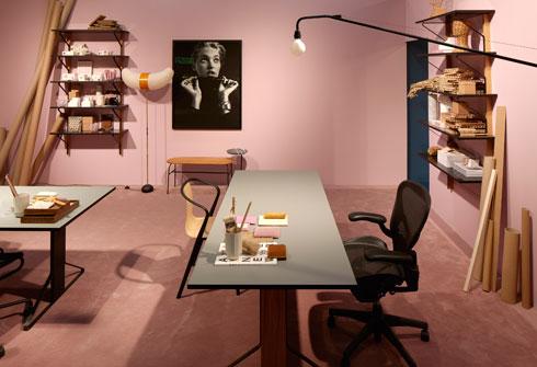 זה בית או משרד? תערוכת הקונספט מציעה לא להיבהל מטשטוש הגבולות (Stockholm Furniture & Light Fair 2017 צלם: Mathias Nero)