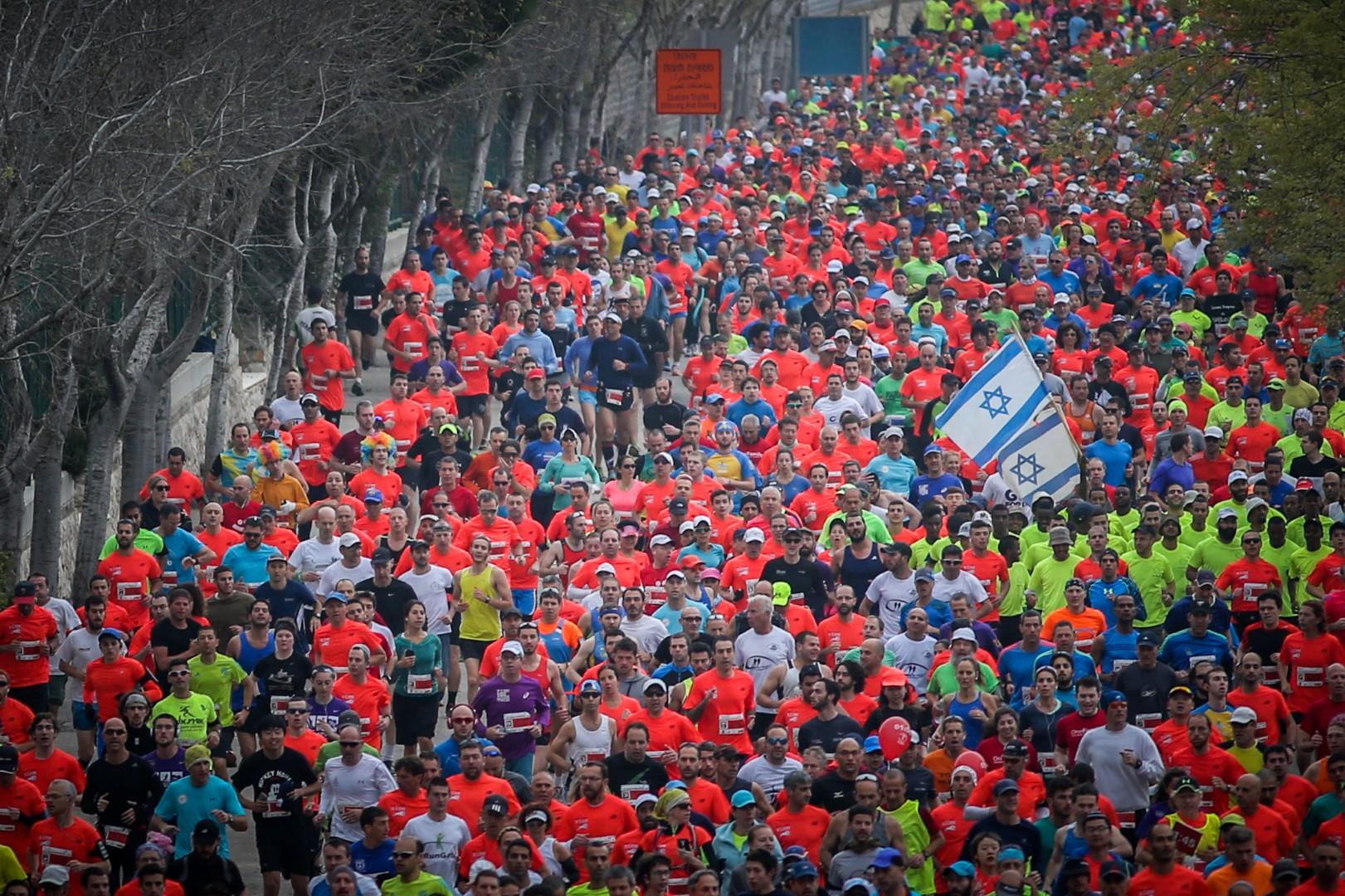 Jerusalem Marathon (Photo: Jerusalem Municipality)
