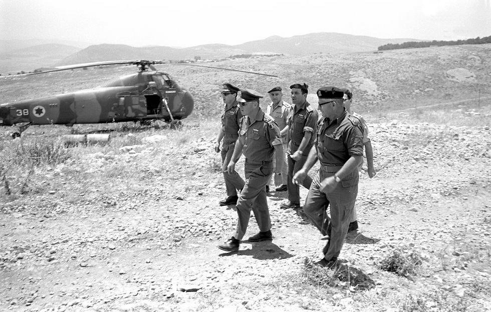 Командиры ЦАХАЛа во время войны. Фото: Архив ЦАХАЛа