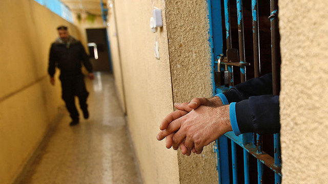 An incarcerated drug smuggler in Gaza (Photo: Reuters)