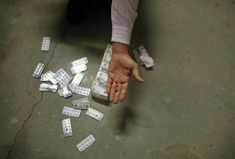 Seized Tramadol (Photo: Reuters)