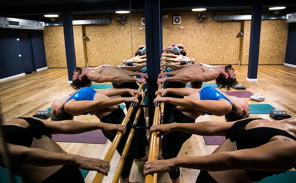 בר חם . שיעור המשלב בתוכו אלמנטים מעולם הפילאטיס, האירובי וטכניקות מעולם הריקוד בשילוב של בר בלט