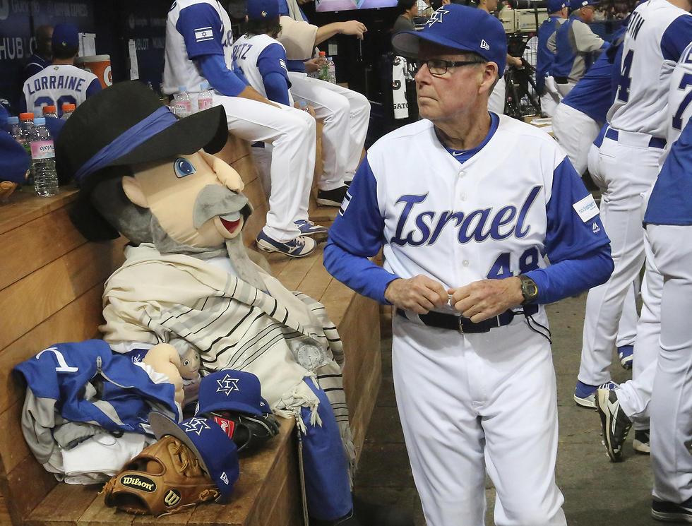 Israel's third base coach Pat Doyle (Photo: AP)