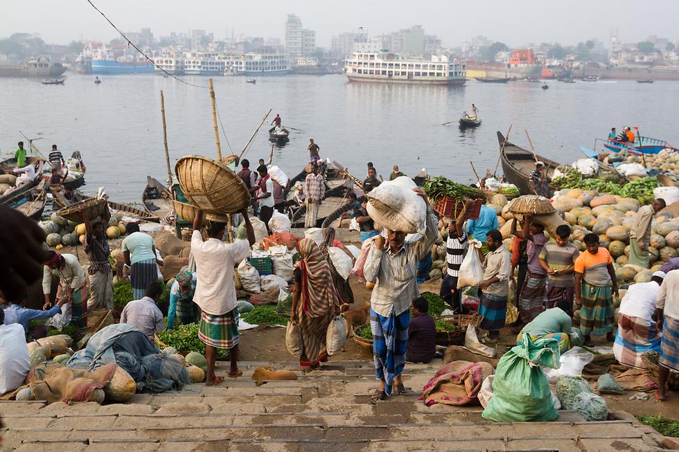 מתחילה לפתח תעשייה ולצמוח. בנגלדש (צילום: Shutterstock)