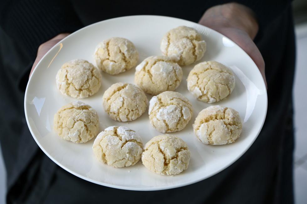 עוגיות לימון טוסקניות (צילום: בת-חן דיאמנט)