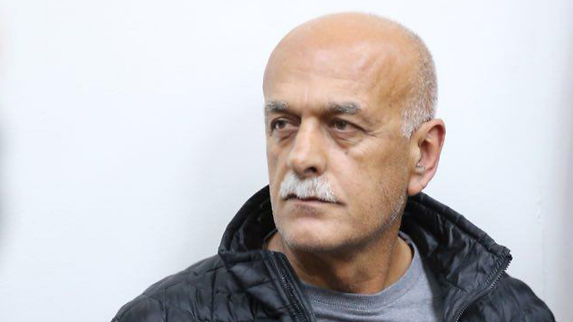 Brig. Gen. (res.) Amal Asad, at his arrest (Motti Kimchi)