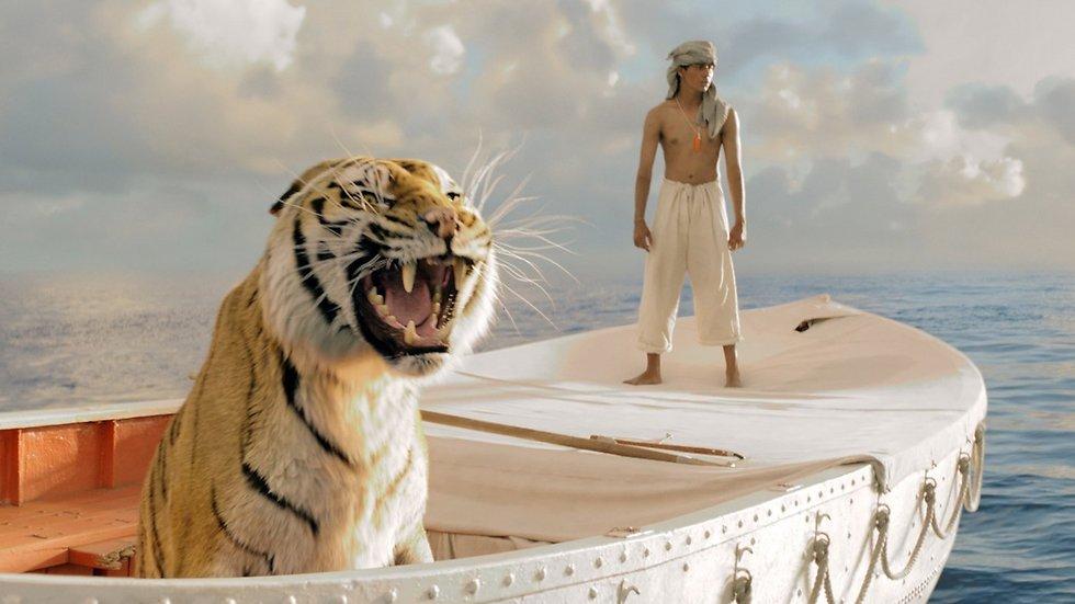 """הנמר שכמעט טבע. """"חיי פיי"""""""