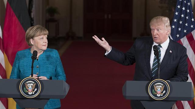 Merkel and Trump (Photo: EPA)