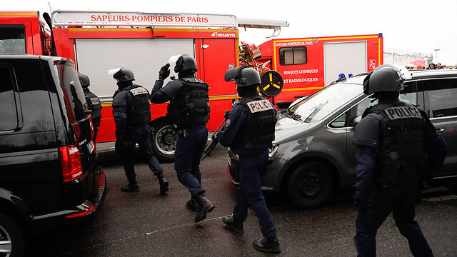 Orly Airport following incident (Photo: AFP)