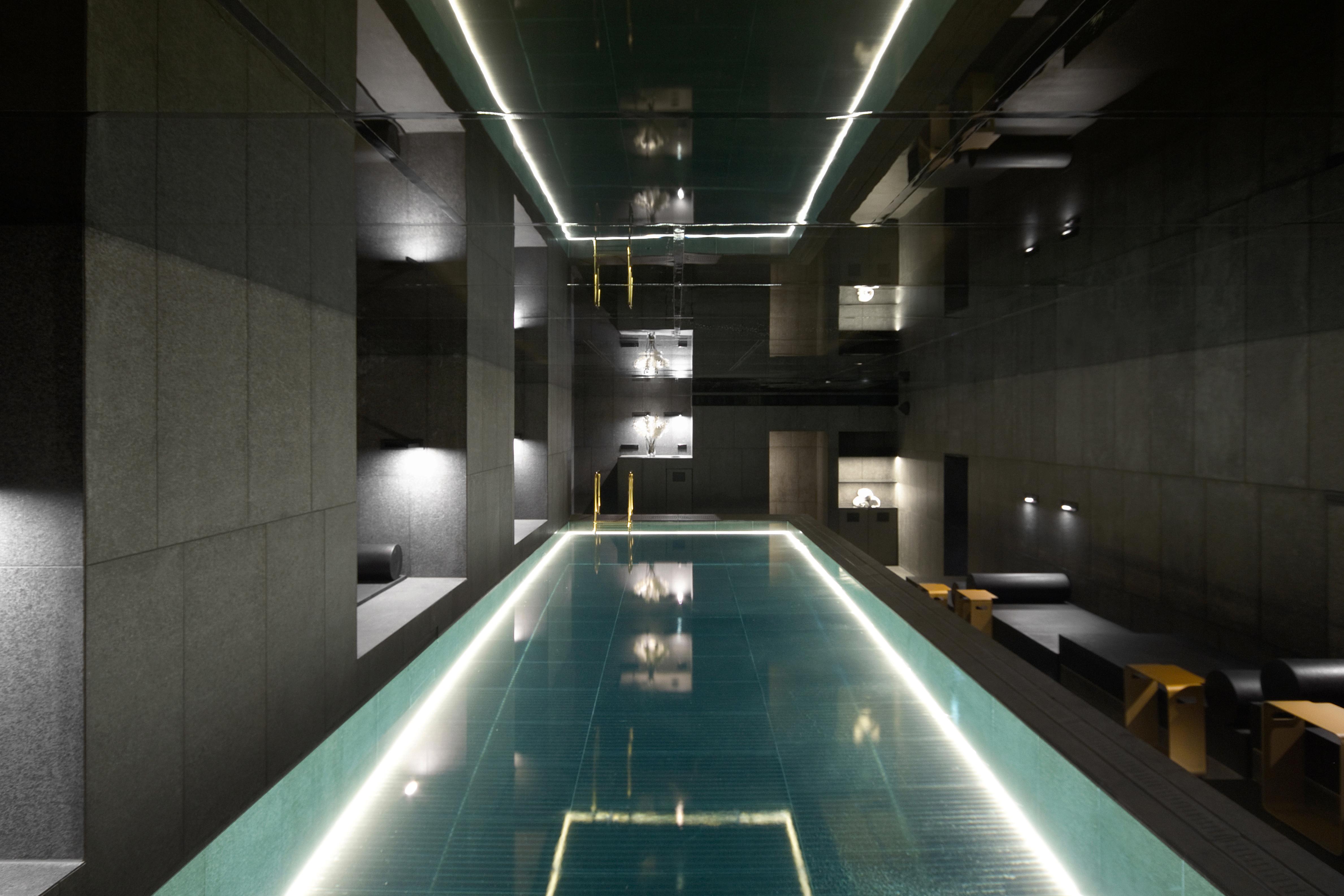 הספא החדש במלון W באמסטרדם - בעיצוב של ישראלים  (צילום: Joraima Tromp, באדיבות האדריכל אלון ברנוביץ ומעצבת-הפנים אירנה קרוננברג )