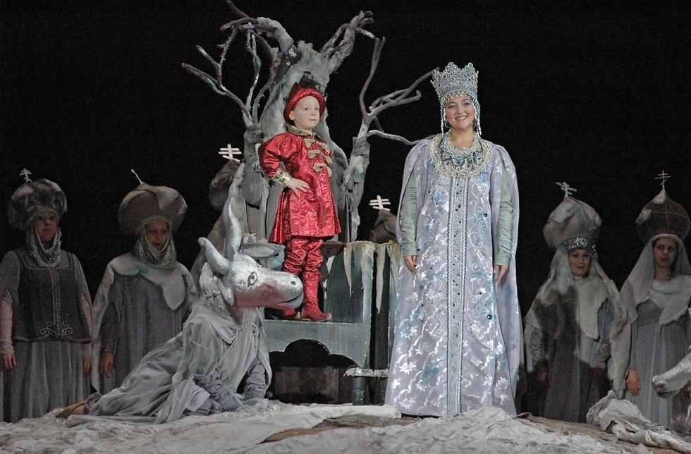 """""""סיפורו של צאר סלטן"""" (צילום: באדיבות האופרה הישראלית)"""