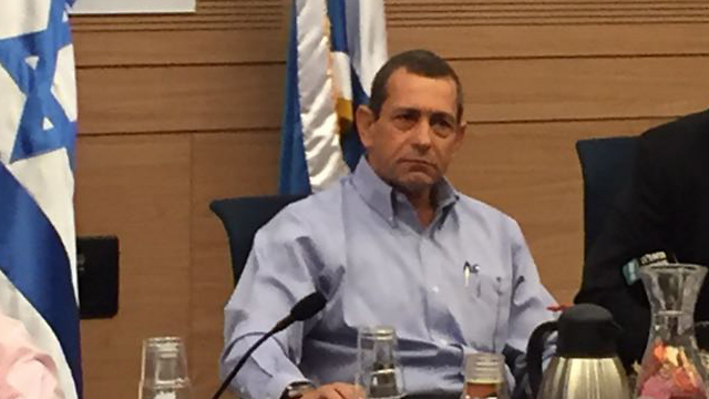 Shin Bet Director Argaman appearing before the Knesset's Foreign Affairs and Defense Committee (Photo: Gil Yohanan)