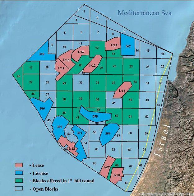 Israel-Lebanon maritime border