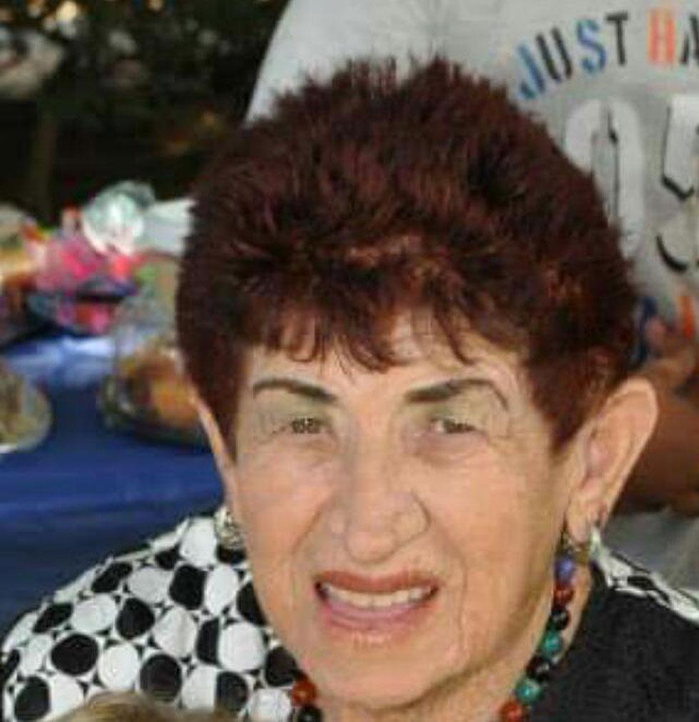 אילנה בלומנפלד. בת 80 במותה (באדיבות עיריית הרצליה)