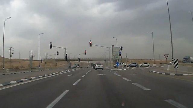 ДТП на перекрестке Оалим