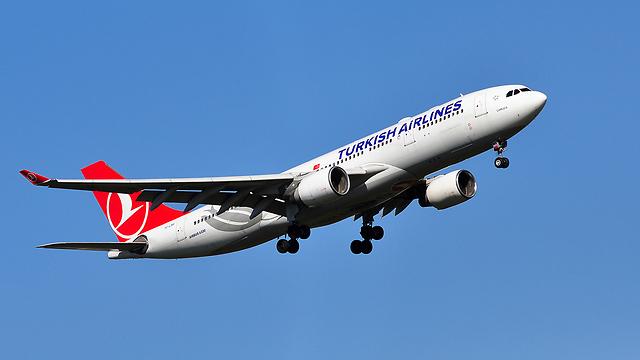 """""""אינדיפנדנט"""": האיסור יחול גם על טיסות """"טורקיש איירליינס"""" מאיסטנבול  (צילום: shutterstock)"""