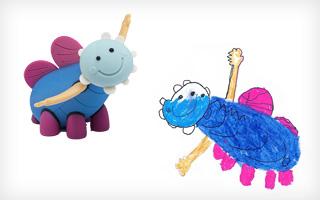 צילום ציורי ילדים: באדיבות סטודיו דור כרמון, צילום הבובות: יורם רשף