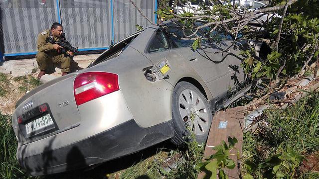 The terrorist's car