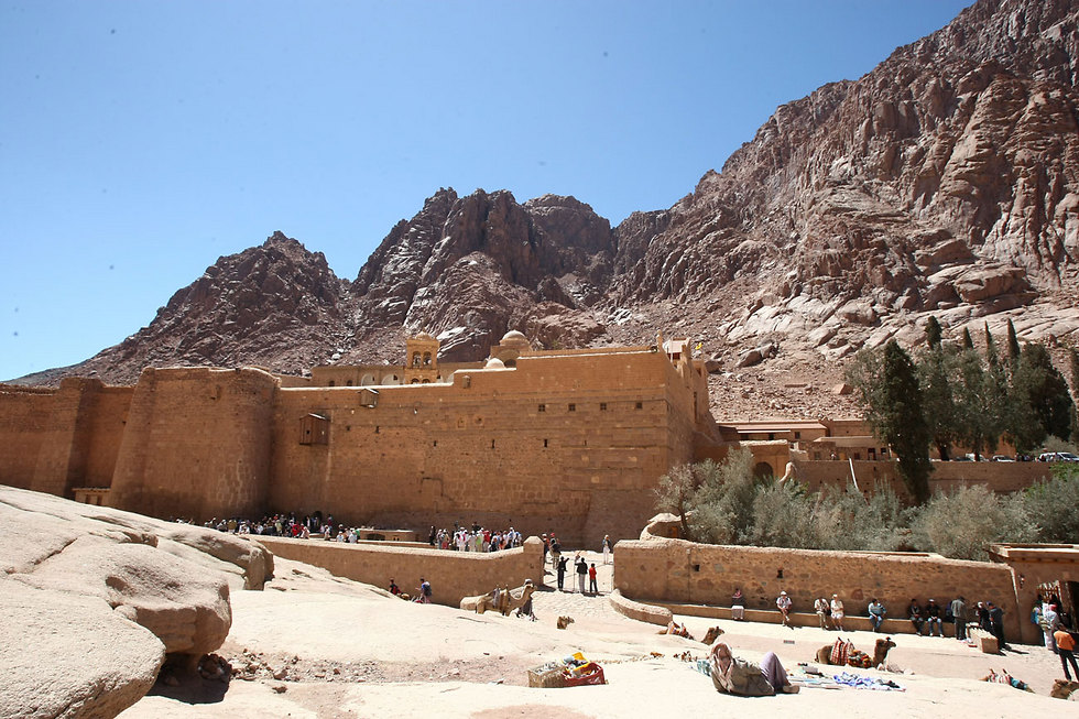 Attack near Egypt's St Catherine's monastery kills one