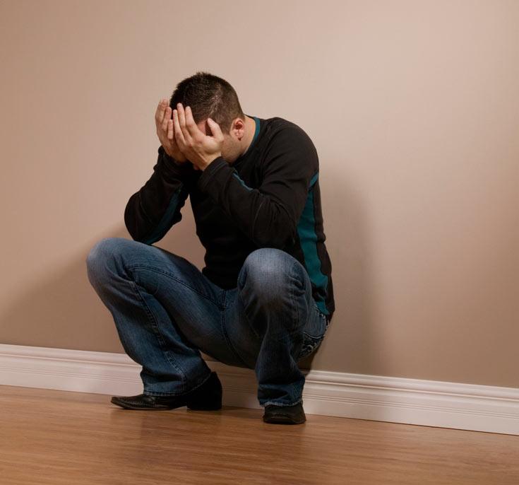 קרוב ל-60% מהאנשים הסובלים מדיכאון קליני סובלים גם כאבים פיזיים. אילוסטרציה (צילום: thinkstock)