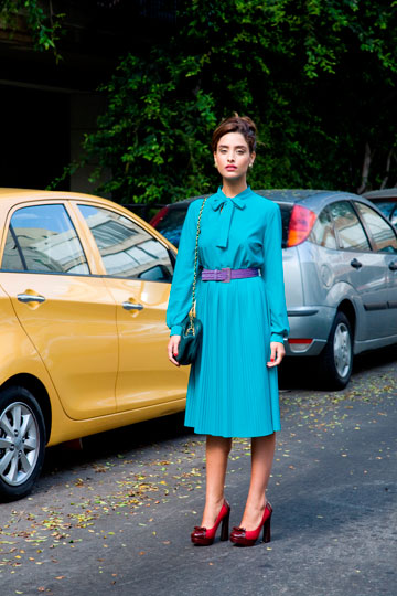 קליגולה. באאוטלט: נעלי נשים, עד שלוש עונות אחורה (צילום: תמר קראוון)