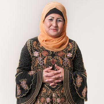 """מונה אל חבנין. מייסדת עמותת """" נסיכת המדבר"""" למען נשים בדואיות מוכות ( צילום: עדי אדר )"""