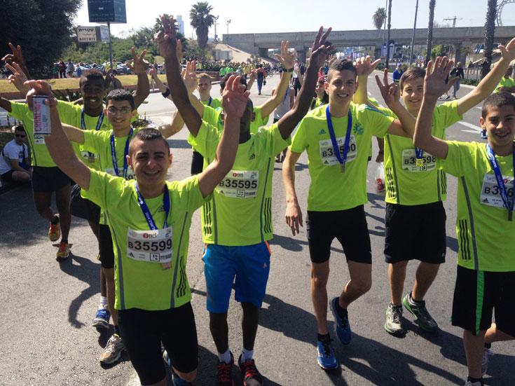 """מרוץ כפר עיינות בשנה שעברה. """"החלטנו לפתח את הרעיון ולקיים מרוץ שיהיה פתוח לציבור ושנוכל לגייס בעזרתו תרומות לארגונים שונים"""" (באדיבות כפר הנוער עיינות)"""