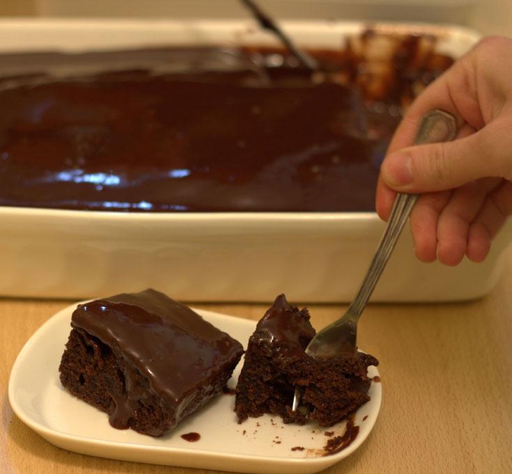 נמסה על הלשון. עוגת שתיים (צילום: נחמה שובתת)