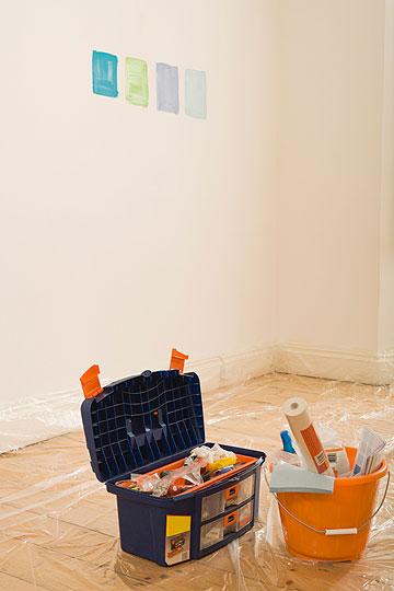 מיסוך קפדני יקל על הניקיון אחרי הצביעה (צילום: thinkstock)