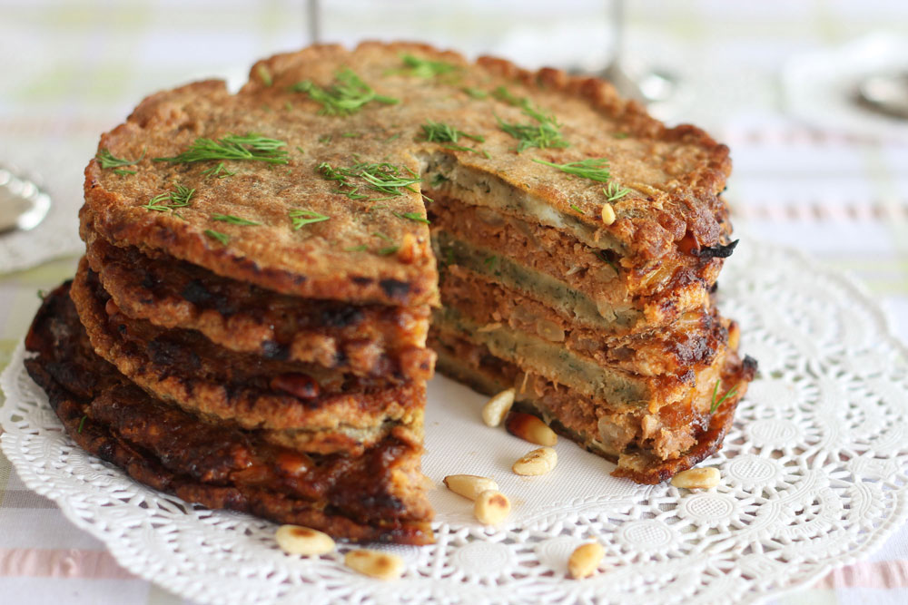 פשטידת בשר ותפוחי אדמה בשכבות (צילום: אסנת לסטר)