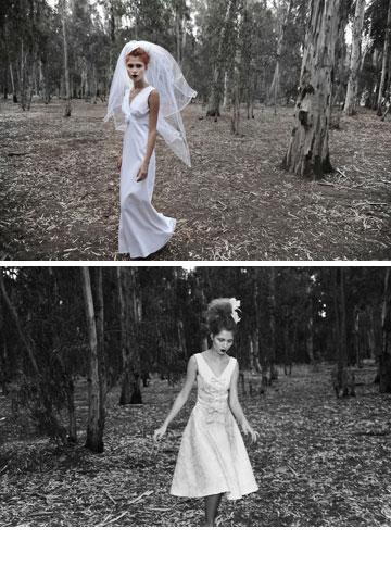 נעמה בצלאל. שמלות כלה במחירים 799-199 שקל (צילום: איתן טל)