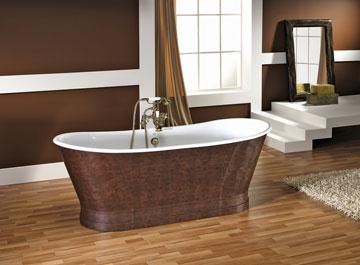 פרקט עץ המיועד לחדר האמבטיה של חזי בנק. הוא אנטי-בקטריאלי, מותאם לאקלים הישראלי ומעניק לוק יוצא דופן לאמבט