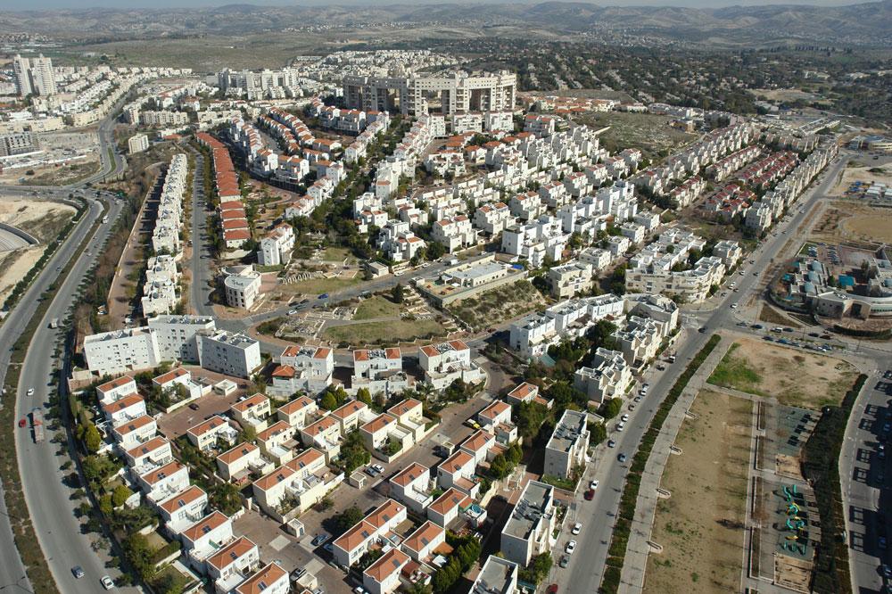 85 אלף תושבים ותוכנית להכפלת מספרם. לכאורה, מודיעין היא סיפור הצלחה עם ביקוש למגורים בה, אבל המציאות יכלה להיות טובה הרבה יותר (צילום: skyview)