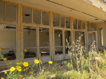 אחד הבניינים בבית ההבראה באשקלון (צילום: מיכאל יעקובסון )