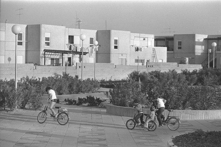 יישוב קטן, פוטנציאל גדול. ימית ב-1978 (צילום: משה מילנר, לעמ)