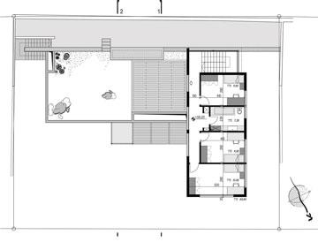 הקומה השנייה (תכנון: מלכא אדריכלים)