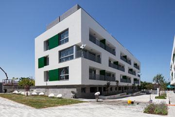 פרויקט הדיור בר ההשגה בשכונת שפירא שבדרום תל אביב (צילום: אביעד בר נס)