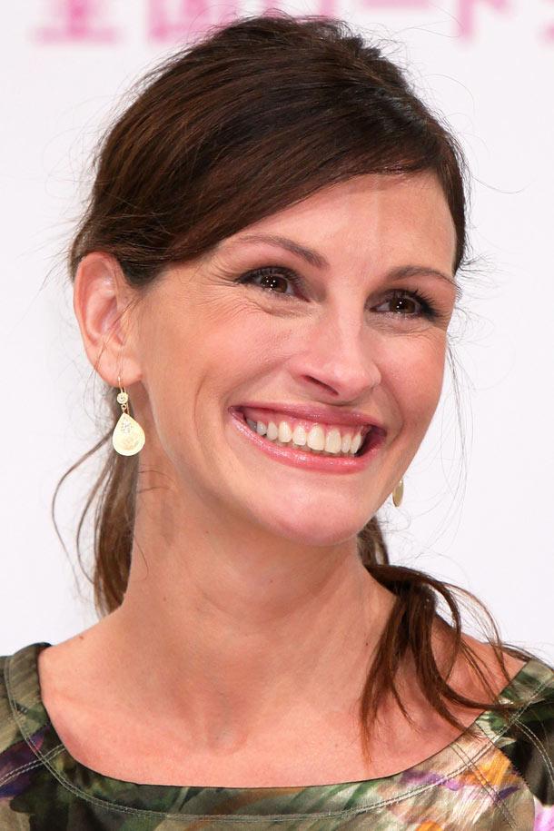 החיוך היפה ביותר בהוליווד? כבר לא. ג'וליה רוברטס (צילום: gettyimages)