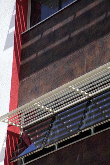 קטע מחזית בית הספר החדש (צילום: אמית הרמן)