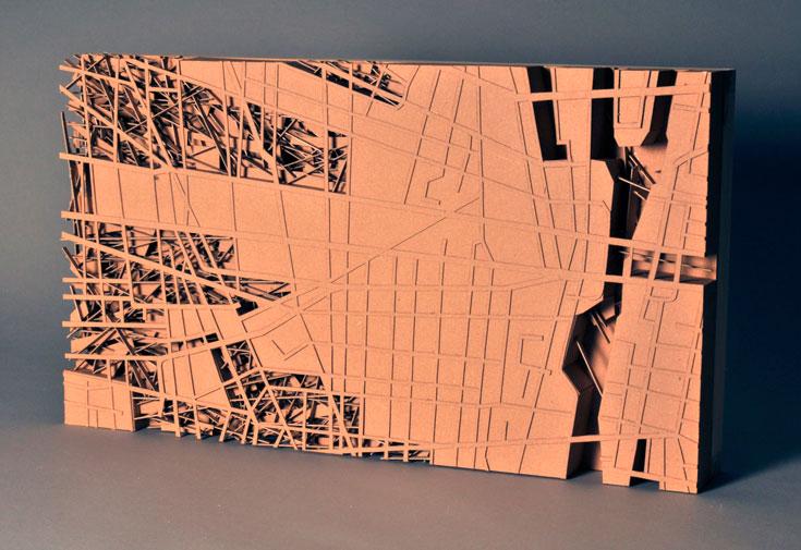 עבודה של אמיר תומשוב, אדריכל ששונא לבנות ומעדיף לעשות מאדריכלות אמנות (צילום: אמיר תומשוב)
