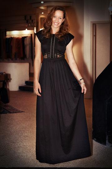 בנקר. שמלה עוצרת נשימה, אבל בוגרת מדי לנשף סיום התיכון (צילום: ענבל מרמרי)