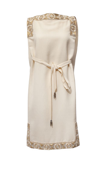 שמלה של משכית, מארכיון שנקר (צילום: ענבל מרמרי)