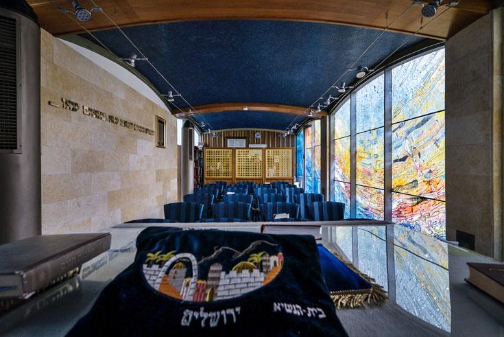 מבט נוסף אל בית הכנסת הנשיאותי (צילום: איתי סיקולסקי )