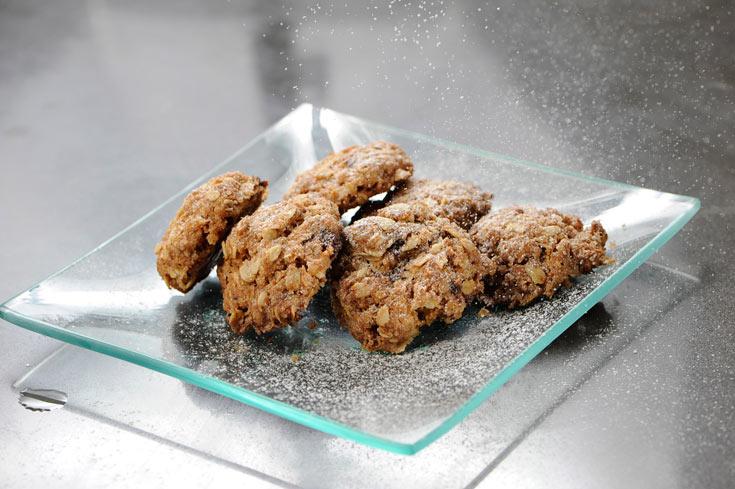 עוגיות עם המון שיבולת שועל (צילום: דודו אזולאי)