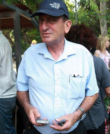 ראש העירייה, רון חולדאי. כל התוכניות שמוצגות כאן אושרו סופית בקדנציה שלו (צילום: שאול גולן)