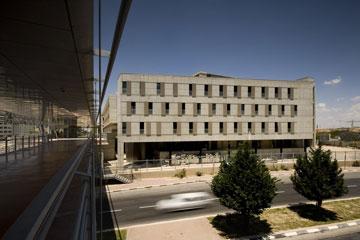 בניין ננו-טכנולוגיה באוניברסיטת בן גוריון, ב''ש (צילום: עמית האס)