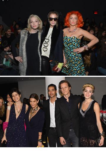 """""""כולם שם סנובים ומלאים בעצמם"""". צ'לסי ליילנד חוגגת בתצוגות אופנה (צילום: gettyimages)"""